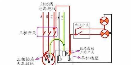 六脚带灯的开关怎么接?_开关带插座安装图 带插座开关接线图实物图 - 百科 - 放牛者资讯网